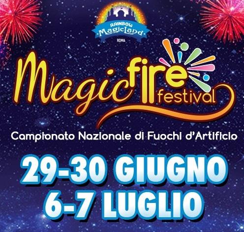 Magic Fire Festival – Campionato Nazionale di fuochi d'artificio: W l'Arte pirotecnica italiana !!!